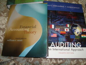 Accounting / Auditing text books