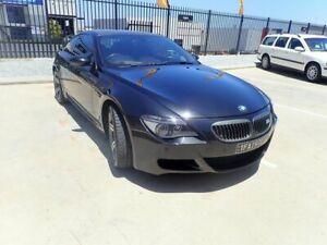 2007 BMW M6 E63 MY08 Black Magic 7 Speed Seq Manual Auto-Clutch Coupe Wangara Wanneroo Area Preview
