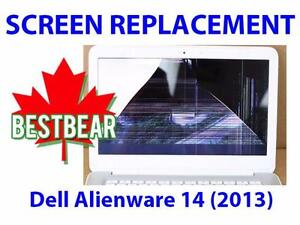 Screen Replacment for Dell Alienware 14 (2013) Series Laptop