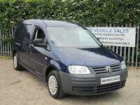 VOLKSWAGEN CADDY MAXI C20 1.9TDI (104PS) ONLY 67K FSH INC CAMBELT / ONE OWNER!!!