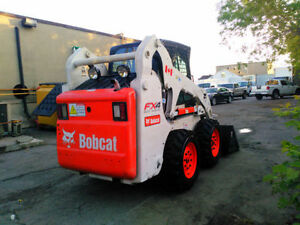 2007 BOBCAT S185 SKIDSTEER WITH EXTRAS AND WINTER CAB