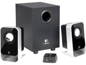 Like New Logitech LS21 2.1 Stereo Speaker System