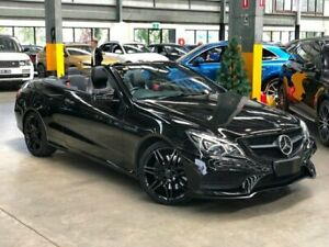 2013 Mercedes-Benz E400 A207 Cabriolet 2dr 7G-TRONIC + 7sp 3.0TT [Jun] Black Sports Automatic Port Melbourne Port Phillip Preview