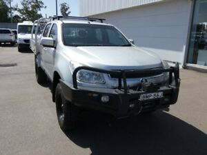 2013 Holden Colorado RG MY13 LX Crew Cab Silver 6 Speed Sports Automatic Cab Chassis