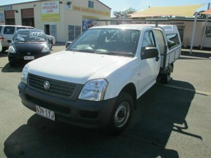 2004 Holden Rodeo RA DX White 5 Speed Manual Utility Coopers Plains Brisbane South West Preview