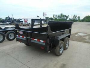 QUALITY 3.5 TON DUMP TRAILER 6X10 BED WITH LOTS OF STD FEATURES London Ontario image 2