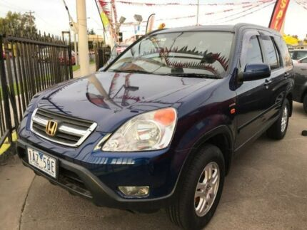2002 Honda CR-V RD MY2002 Sport 4WD Blue 4 Speed Automatic Wagon Maidstone Maribyrnong Area Preview