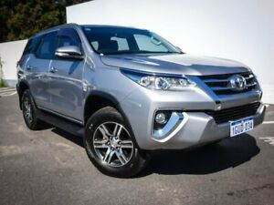 2016 Toyota Fortuner GUN156R GXL Silver 6 Speed Automatic Wagon Maddington Gosnells Area Preview