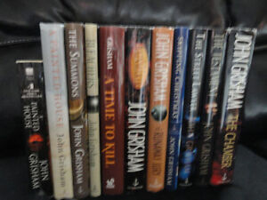 LOOKING FOR SEVERAL JOHN GRISHAM 1ST EDITIONS