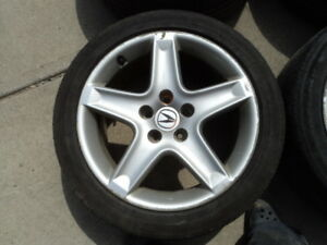 3 17 inch Alloy Rims  for Acura / Honda Vehicles