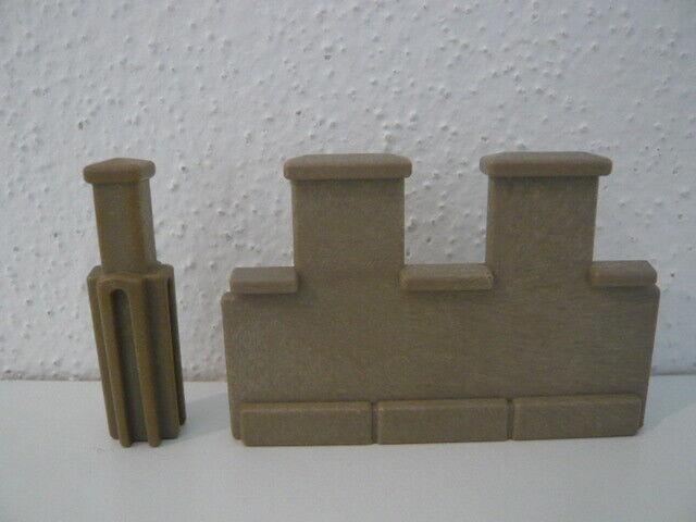 Playmobil 3450 3446 Ritterburg Zinnen Verbinder Mauer
