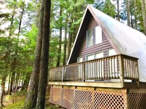 2 BR - A-Frame Freehold Cabin on Flat lot near Hope - C69