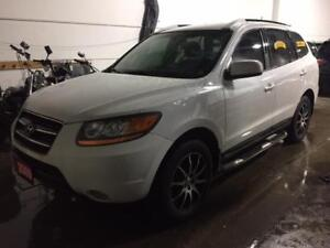 2009 HYUNDAI SANTA FE AWD/LEATHER/SUNROOF/ALLOYS/AUXILIARY INPUT