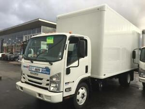 2018 Isuzu NRR 18FT BOX ITB