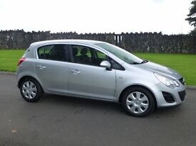 2012 VAUXHALL CORSA 1.2 EXCITE 5 DR ONLY 27000 MILES FINANCE AVALIABLE
