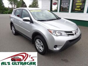 2015 Toyota RAV4 LE 4x4 only $181 bi-weekly all in!
