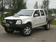 2007 Holden Rodeo RA LT (4x4) White Manual 4dr Ute Lansvale Liverpool Area Preview