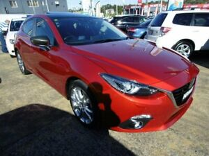 2014 Mazda 3 BM XD Astina Maroon 6 Speed Automatic Hatchback Five Dock Canada Bay Area Preview