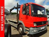2006 Mercedes-Benz Atego 1523 DAY CRANE Diesel red Manual
