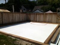 Home Hockey and Skating Rink Solutions - Boards