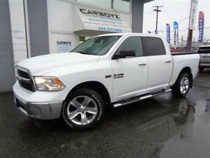 2013 Dodge Ram 1500 SLT Crew 4x4, Nav, Rev Camera, Luxury Group!