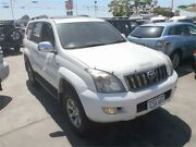 2007 Toyota Landcruiser Prado KDJ120R MY07 Grande (4x4) White 5 Speed Automatic Wagon Cannington Canning Area Preview