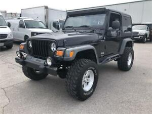 2004 Jeep Wrangler - Lifted on 33's! — 4L 6cyl — 4x4