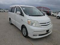 Toyota Alphard April 2004 G EDITION HYBRID 7 SEATS(63,000 MILES) DUE DEC