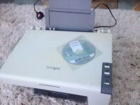 Lexmark 2300 coloured printer, photocopier and scanner. good working condition