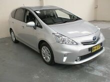 2013 Toyota Prius v ZVW40R Hybrid Silver Continuous Variable Wagon Gateshead Lake Macquarie Area Preview