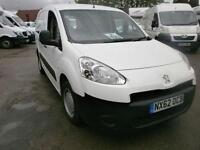 Peugeot Partner L2 716 S 1.6 Hdi 92 Crew Van DIESEL MANUAL WHITE (2012)