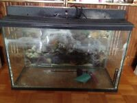 30 Gallon Aquarium and Accessories