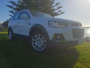 2018 Holden Captiva CG MY18 Active 2WD Summit White 6 Speed Sports Automatic Wagon South Burnie Burnie Area Preview