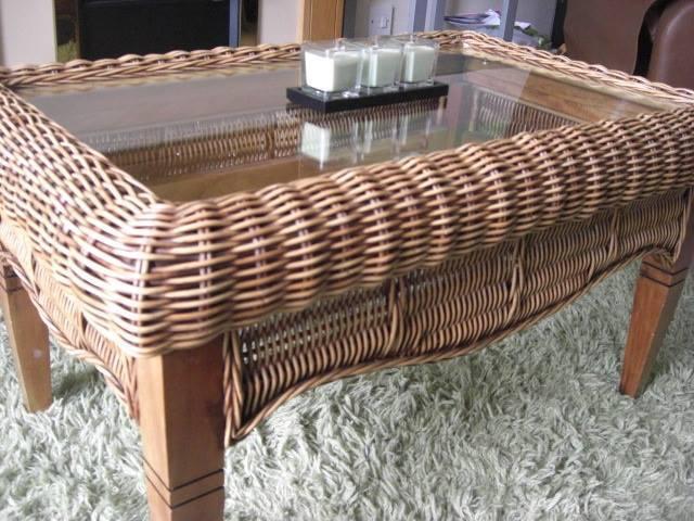 Wicker and Glass coffee Table in Kinghorn Fife Gumtree : 86 from www.gumtree.com size 640 x 480 jpeg 60kB