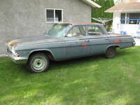 1962 Chevrolet Impala  Belair Biscayne 4 door for parts