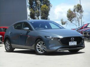 2019 Mazda 3 BP2H7A G20 SKYACTIV-Drive Pure Grey 6 Speed Sports Automatic Hatchback Ravenhall Melton Area Preview