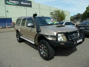 2008 Holden Rodeo RA MY08 LT (4x4) Gold 5 Speed Manual Crew Cab Pickup Homebush West Strathfield Area Preview
