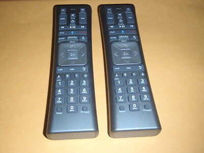 Lot Of  2  Xfinity Comcast Xr11 Voice Remote W  Backlight   Voice Command