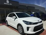 2017 Kia Rio YB MY17 S White 4 Speed Sports Automatic Hatchback Fyshwick South Canberra Preview