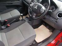 MITSUBISHI COLT 1.3 CZ2 3d 95 BHP (red) 2009