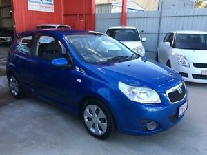 2009 Holden Barina TK Blue Manual Hatchback Clontarf Redcliffe Area Preview