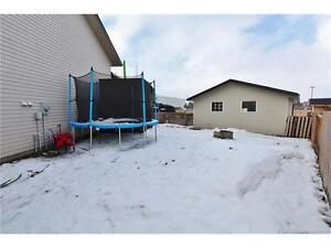 3 bed, 2 Bath, Pie lot with double garage.