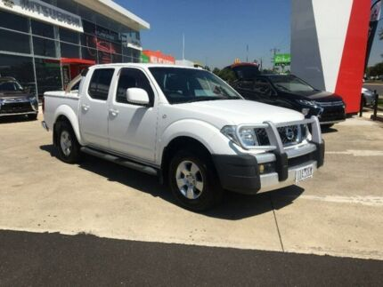 2011 Nissan Navara D40 ST White 5 Speed Automatic Utility Hoppers Crossing Wyndham Area Preview