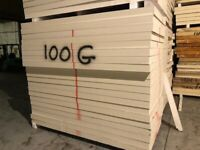Top Quality Insulation Board Seconds 1.2 x 2.4 x 100ml @ £28.00 each