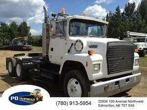 1994 Ford L8000 T/A Winch Truck Edmonton Edmonton Area image 1