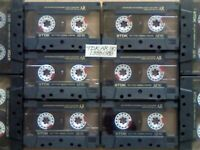 JL £36.99 & FREE P&P 10x GUARANTEED TDK AR 90 PREMIUM CASSETTE TAPES 1988-1989 W/ CARDS CASES LABELS