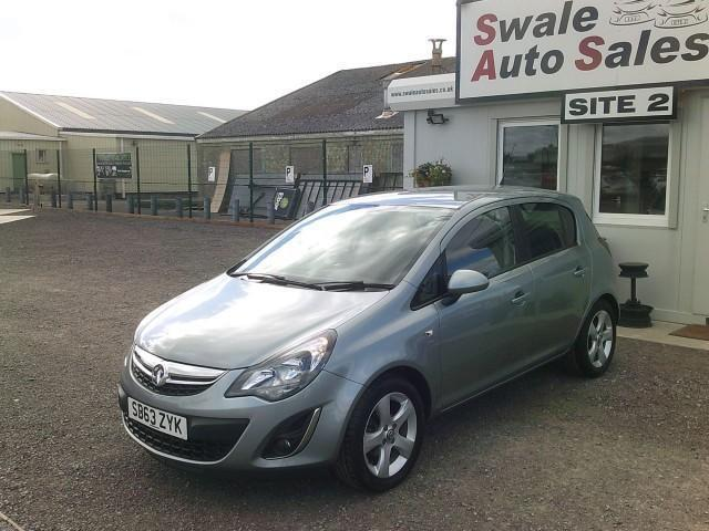2013 VAUXHALL CORSA SXI 1.2L - ONLY 30,637 MILES - FULL SERVICE HISTORY