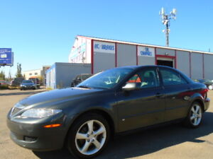 2004 Mazda Mazda6 GT SPORT PKG-3.0L V6--LEATHER-SUNROOF