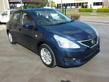2014 Nissan Pulsar C12 ST Blue Continuous Variable Hatchback Strathpine Pine Rivers Area Preview