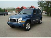 2006 Jeep Liberty LTD CRD TURBO DIESEL Low KM's No Accidents